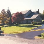 Driveway Coating for Residential House by Marty's Sealcoating