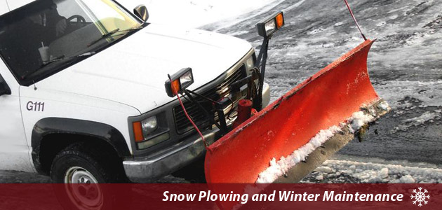 Commercial Snow Plowing in Amherst NY